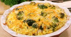 Cheesy Chicken And Broccoli Rice Bake – 12 Tomatoes