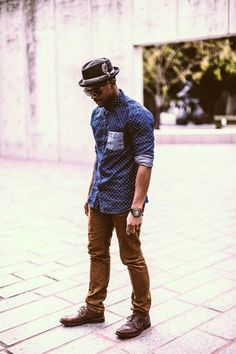look_masculino_primavera_estilo_camisa_poa