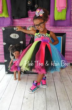Rainbow Cheetah Dress