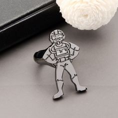 steel soldier Star Wars Darth Vader mask shape ring High Quality  STAINLESS Steel men jewelry