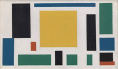 Theo van Doesburg, Composition VIII (The Cow), c. 1918