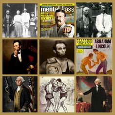 Did you know that both, George Washington and Abraham Lincoln were very well known for their #wrestling abilities back in their day?   Did you also know Theodore Roosevelt was known for being a stand out in his younger years for #Judo and #ju jitsu? While some of these pics were obviously meant to be funny, it's actually true.