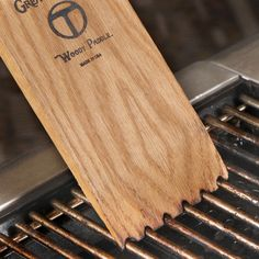 The Ultimate BBQ Cleaning Tool  Woody Paddle by GreatScrape