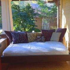 Porch Swing Bed... I love it!
