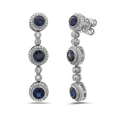 Family owned since Levy's Fine Jewelry has a wide selection of vintage, antique and one-of-a-kind modern jewelry and engagement rings. Sapphire Birthstone, Sapphire Earrings, Modern Jewelry, Fine Jewelry, Beading Ideas, Vintage Jewellery, Birthstones, Engagement Rings, Antiques