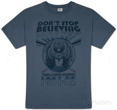 Journey - Don't Stop Event T-Shirts bei AllPosters.de