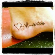 Tattoo: I wanna get this when I pass my boards.. minus the sisters part. I want it to say RN somewhere.