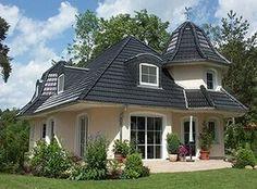fertighaus gl cksburg hausansicht vorschau wohn dekoideen pinterest fertigh user danhaus. Black Bedroom Furniture Sets. Home Design Ideas