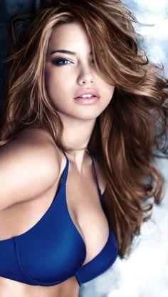 Image via We Heart It https://weheartit.com/entry/152595821/via/5353938 #AdrianaLima #angel #beautiful #Best #blueeyes #brunette #gorgeous #hair #idol #lingerie #makeup #model #pretty #sexy #Victoria'sSecret