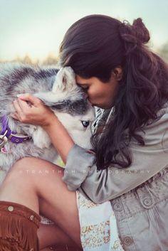 Huskey Dog Session- pet family photography.