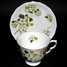 Queen Anne Blossoms Teacup