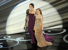 Jennifer Garner, Jessica Chastain, Oscars 2013
