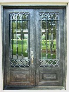 Scardino Doors 1 & Double Door | Wrought Iron | Pinterest | Wrought iron Iron and Doors