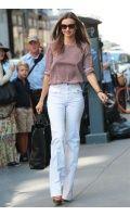Mirander Kerr in Stella McCartney blouse - Vogue