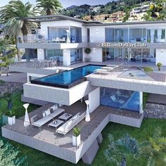 "Luxury Homes Interior Dream Houses Exterior Most Expensive Mansions Plans Modern 👉 Get Your FREE Guide ""The Best Ways To Make Money Online"" Dream Home Design, Modern House Design, Dream Mansion, Beach Mansion, Luxury Homes Dream Houses, Luxury Life, Dream Homes, Modern Mansion, Dream House Exterior"