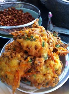 Singapore indian rojak recipe singapore food recipes food that singapore home cooks vegetable fritters by anie randu forumfinder Gallery