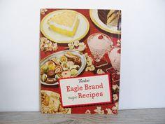 Vintage Cook Book Borden's Eagle Brand by VickiesVintageBooks