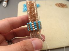 Beading Stitches Used to Make Beaded Ropes: Tubular Even Count Peyote Stitch