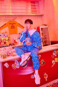 Baekhyun (EXO) révèle de nouvelles photos et un teaser MV pour « Candy