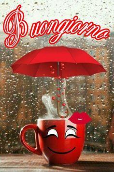 Good Morning Rainy Day, Good Morning Gif, Morning Images, Good Morning Quotes, Good Night, Italian Memes, Italian Quotes, Italian Greetings, Emoji Symbols