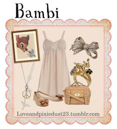 I wouldn't wear that dress without leggings and a jacket thing on top, but I like the Bambi feel you get from it...