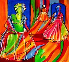 um bom samba e uma boa dupla de lindas intérpretes para o último dia de 2014... >>> betomelodia - música e arte brasileira: Lá Vem a Baiana, com Teresa Cristina e Jussara Sil...