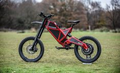 Test-riding the fastest bike in the world in 2018: review | Designed for adrenaline-charged, off-road recreation and billed as the world's most technically advanced and powerful electrically powered 'hyper bicycle', the EB-01 has an official top speed of 60mph. With a bit of tuning and tinkering, says its designer Raphaël Caillé, it could go as fast as 80 #bike #electricbike #fast #technology