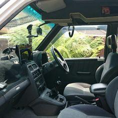 Suzuki Vitara interior #Suzuki #suzukivitara #suzuki4wd #sufuckinzuki #roofconsole #diyconsole #diy #console #gme
