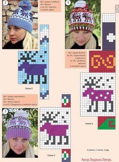 19 New Ideas Crochet Patterns Diagram Charts Fair Isles Knitting Charts, Loom Knitting, Knitting Stitches, Knitting Designs, Knitting Patterns Free, Knitting Projects, Stitch Patterns, Crochet Patterns, Knit Mittens