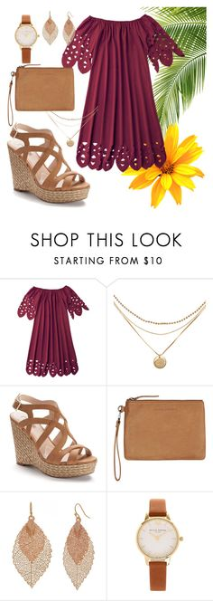 """""""drinks on me"""" by ddanyelle on Polyvore featuring Jennifer Lopez, Status Anxiety, Bold Elements and Olivia Burton"""
