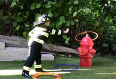 Project Nursery - Ring toss around the fire hydrant! Firefighter Games, Firefighter Training, Kids Obstacle Course, Backyard Obstacle Course, Fireman Party, Firefighter Birthday, Backyard Birthday Parties, Party Activities, Project Nursery
