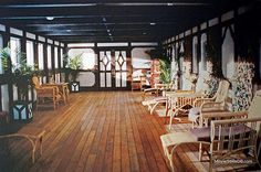 the private deck from the millionaire suite in the movie...