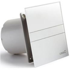 Shop CATA E 100 GT Bathroom Extractor Fan, Timer, 8 W, White Glass. Extractor Fans, Cata, Bathroom, Glass, Euro, Amazon, Ball Storage, Save Energy, Washroom