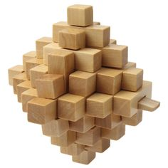 [$1.81] Wooden Adult Educational Toy / Pineapple Lock