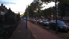 Politie wagens regio Bergen op Zoom met spoed