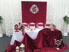 Ideas Wedding Reception Head Table Backdrop Altars For 2019 Wedding Ceremony Backdrop, Wedding Table, Wedding Reception, Wedding Party Games, Gifts For Wedding Party, Lantern With Fairy Lights, Head Table Backdrop, Wedding Budget List, Head Tables