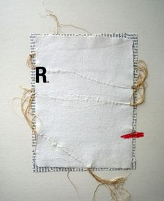 A paper decorated