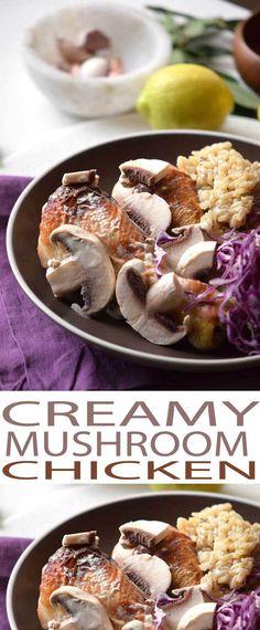 Creamy Mushroom Chic