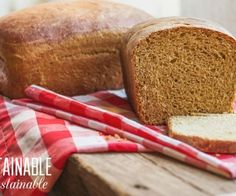 Foolproof Homemade Sandwich Bread – Attainable Sustainable