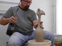 How to throw a ceramic bird