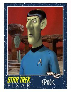 Spock / Pixar