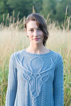 Ravelry: Stag Head Pullover pattern by Norah Gaughan