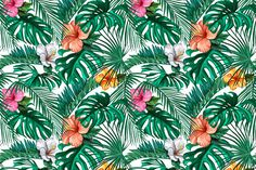 Tropical Wallpaper Mural, custom made to suit your wall size. An extensive range of beautiful wallpaper wall murals custom made to fit your home. Tropical Wallpaper, Bespoke Design, Easy Install, Wall Wallpaper, Traditional House, Pattern Making, Wall Murals, Plant Leaves, Floral