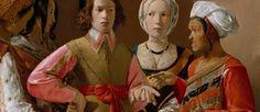 """Georges de La Tour (1593-1652), """"La diseuse de bonne aventure"""" (détail), vers 1630. Huile sur toile, 102 x 123 cm. New York, The Metropolitan Museum of Art."""