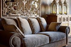 sofá terciopelo clásico vical