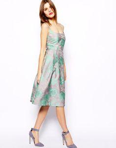 ASOS Premium Prom Dress In Embellished Jacquard #poachit