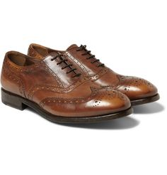 Paul Smith Shoes & AccessoriesLeather Wingtip Brogues|MR PORTER $560
