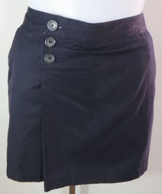 "NEW w/TAGS ""LAND'S END"" NAVY BLUE SKIRT SKORT - PLEASE SEE ALL PICTURES #LANDSEND #PLEASESEEALLPICTURES"