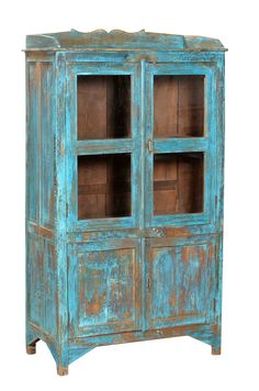 Superbe Beautiful In Blue, Is This Indian #antique Cabinet! Find More Great  Primitive Furniture Online! Www.antiquesdirect.ca #Vancouver #AntiqueMarket
