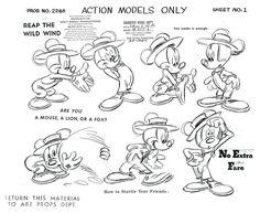 mickey mouse model sheet - Google 検索